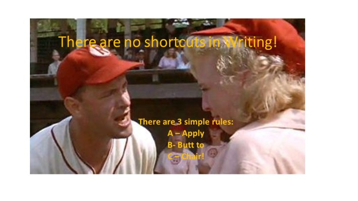 shortcut to writing